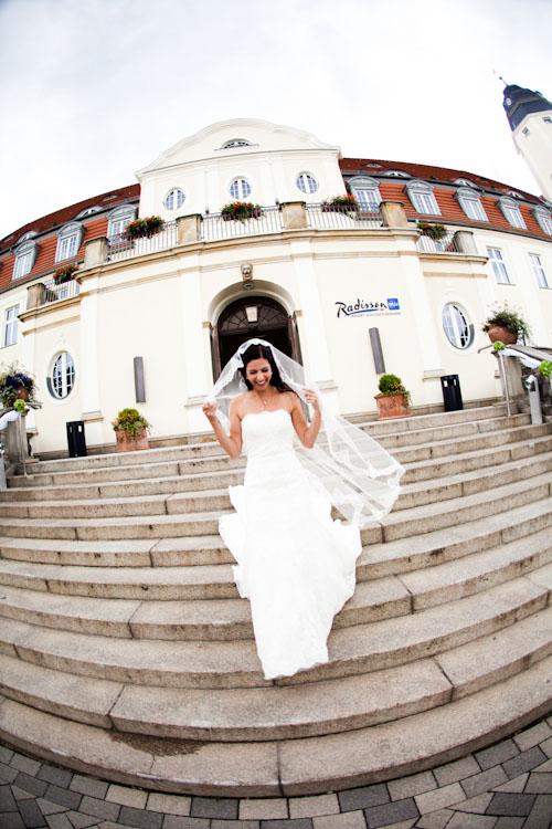 Hochzeitsfotograf im Schloss Fleesensee