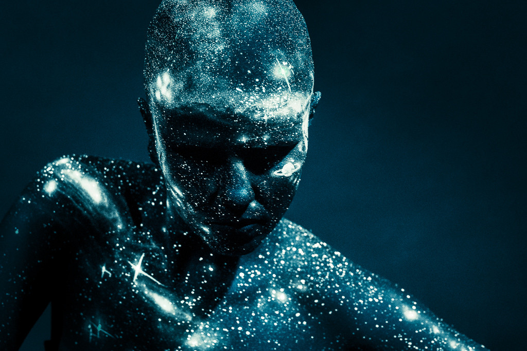 galaxie bodypainting von claudia kraemer bodyart