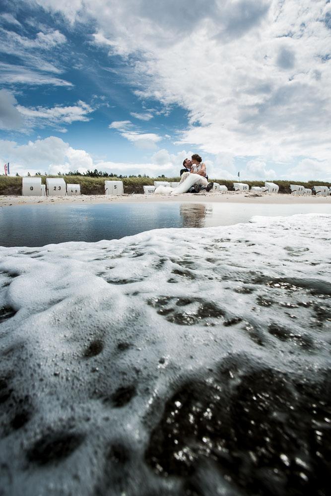 Hochzeitsfotograf Dierhagen Strandshooting
