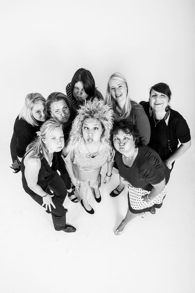 Best Friends Fotoshooting im Studio