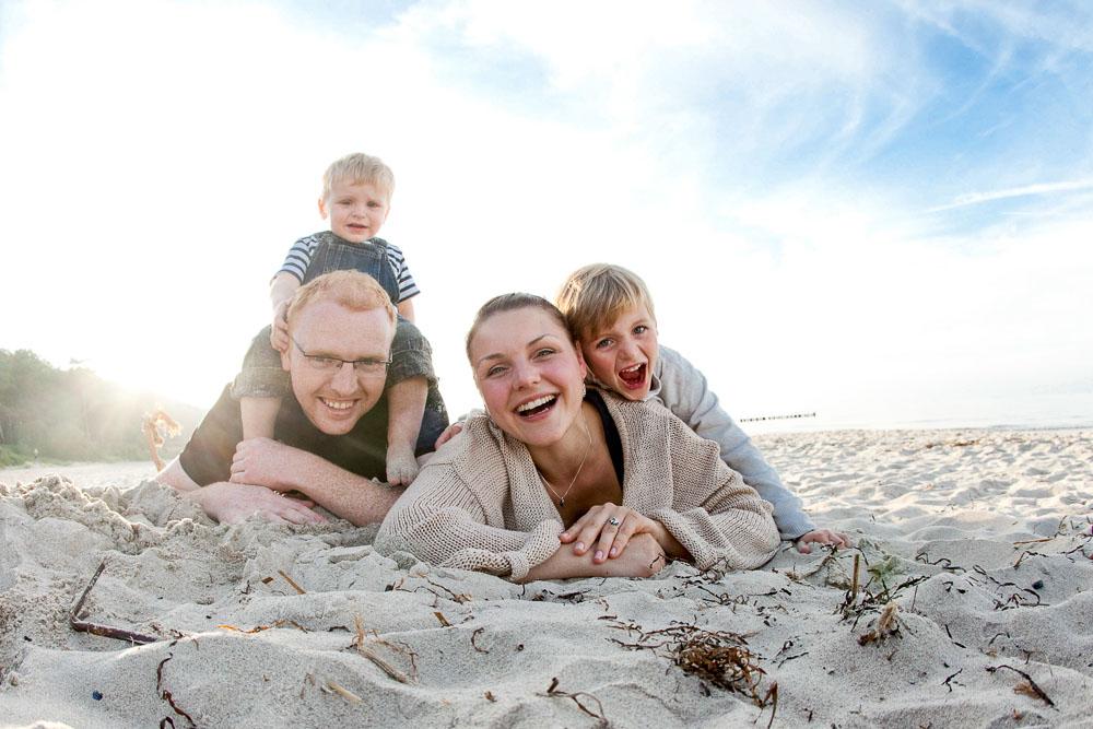 Familienfotos Fotoshooting Fotograf Rostock