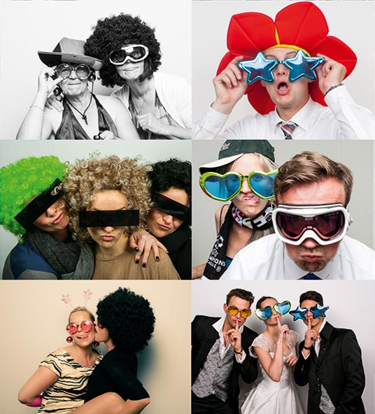 Fotobox für Hochzeit mieten